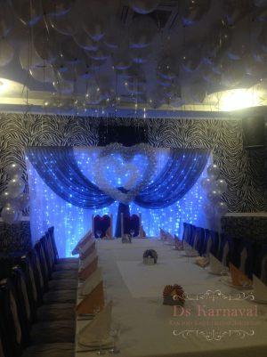 Оформление свадеб в синем цвете недорого в Москве