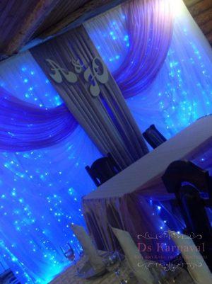 Оформление свадеб в синем цвете фото