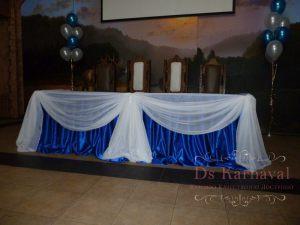 Украшение свадеб в синем цвете фото и цены
