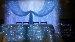 Оформление на свадьбу в синем цвете недорого в Москве