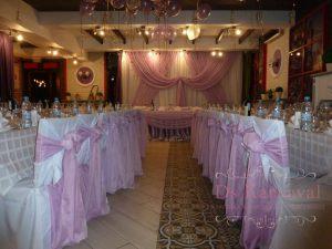 Украшение на свадьбу в сиреневом цвете в Москве
