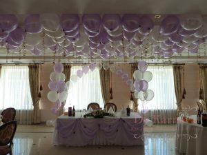 Украшение на свадьбу в сиреневом цвете недорого в Москве