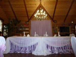 Украшение на свадьбу в сиреневом цвете недорого цены