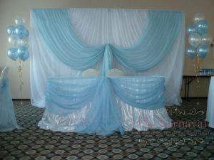 Декор свадьбы в цвете тиффани фото