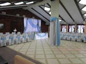 Оформление на свадьбу в цвете тиффани недорого в Москве