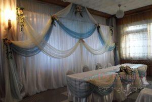 Оформление свадеб в цвете тиффани в Москве