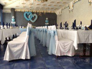 Оформление свадьбы в цвете тиффани оригинально