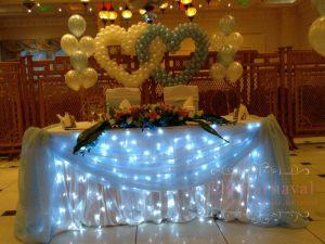 Украшение свадьбы в цвете тиффани цены