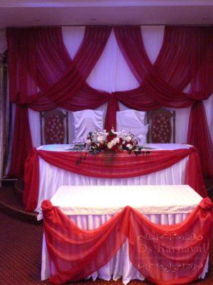 Оформление свадеб в винном цвете фото