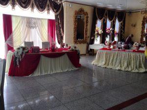 Оформление на свадьбу в винном цвете фото и цены