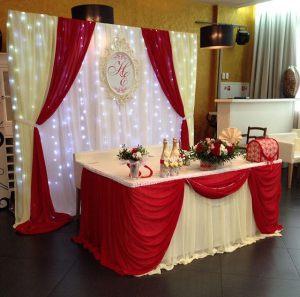 Декор свадеб в винном цвете недорого цены