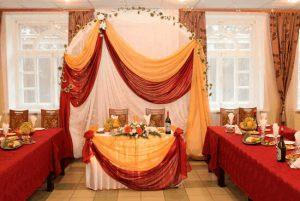 Декор на свадьбу в винном цвете недорого цены