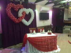Декор свадьбы в вишневом цвете фото и цены