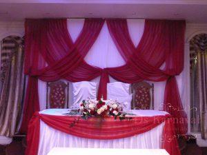 Украшение свадеб в ярком тоне дешево