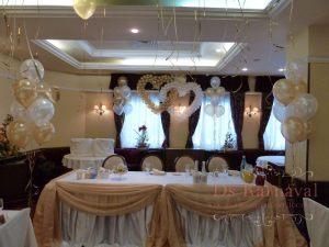 Декор свадеб в ярком тоне красиво