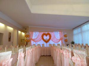 Украшение свадеб в ярком тоне фото