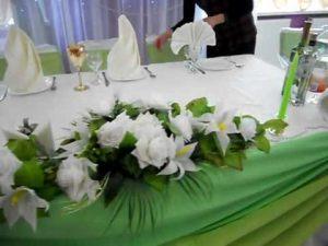 Украшение свадеб в зеленом цвете фото и цены