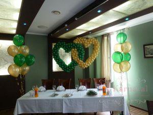Декор на свадьбу в зеленом цвете недорого в Москве