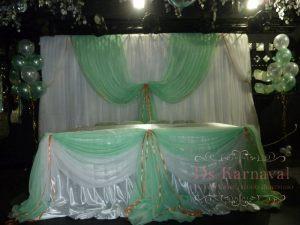 Декор свадьбы в зеленом цвете недорого