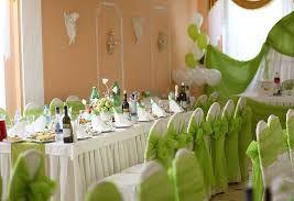 Украшение на свадьбу в зеленом цвете фото и цены