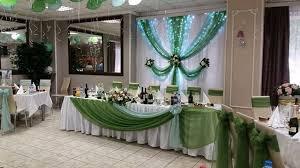 Оформление свадеб в зеленом цвете оригинально