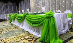 Декор свадеб в зеленом цвете оригинально