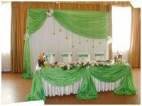 Украшение на свадьбу в зеленом цвете недорого цены