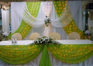 Украшение на свадьбу в зеленом цвете цены