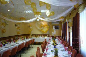 Оформление на свадьбу в желтом цвете красиво