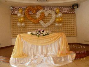 Украшение на свадьбу в желтом цвете недорого