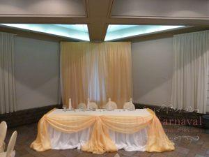 Украшение на свадьбу в желтом цвете фото