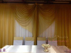 Декор на свадьбу в желтом цвете фото и цены