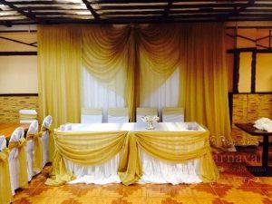 Декор свадеб в желтом цвете фото и цены