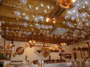 Декор свадьбы в золотом цвете дешево