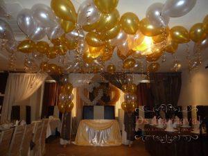 Украшение свадеб в золотом цвете красиво