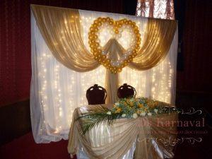 Декор свадеб в золотом цвете фото и цены