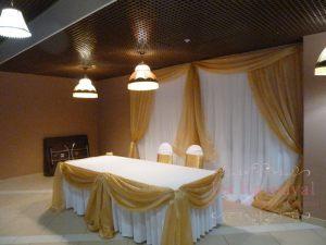 Декор свадеб в золотом цвете цены