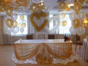 Оформление свадьбы в золотом цвете дешево