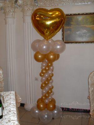 Декор на свадьбу в золотом цвете дешево