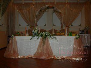 Украшение на свадьбу в золотом цвете недорого цены