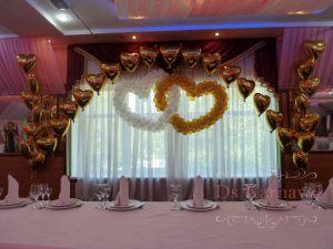 Украшение свадьбы в золотом цвете фото и цены