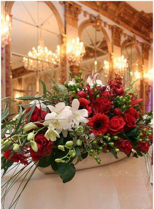 Декор свадеб композицией цветов на столы фото и цены