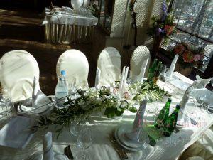 Оформление свадьбы композицией цветов в бокалах цены