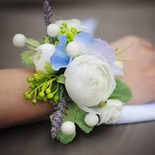 браслеты из цветов для подружек невесты на свадьбу недорого в Москве