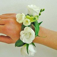 браслеты из цветов на свадьбу недорого