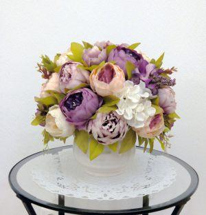 Оформление свадьбы композицией из искусственных цветов фото и цены
