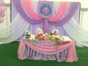 Оформление свадеб композицией из цветов на президиум фото и цены