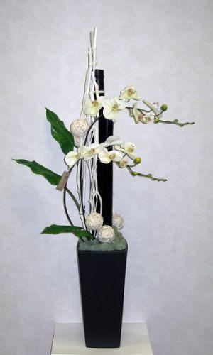Декор свадеб напольной композицией цветов дешево