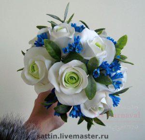 свадебный букет невесты для свадеб в Москве