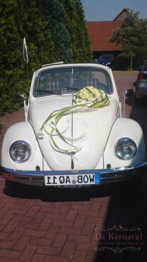 Оформление машины цветами к свадьбам недорого цены
